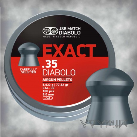 JSB Exact Airgun Pellets cal .35 9.00mm 100 pcs