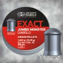 JSB Exact Jumbo Monster Airgun Pellets cal .22 5.52mm 200 pcs