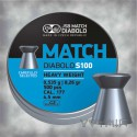 JSB Blue Match Diabolo S100 Heavy Weight Airgun Pellets cal .177 500pcs