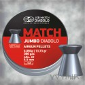 JSB Diabolo Jumbo Match Airgun Pellets cal .22 5.50mm 300 pcs