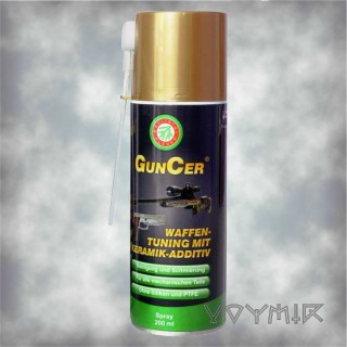 GunCer Tuning Gun Oil With Ceramic Additive 200ml Spray Ballistol-Klever