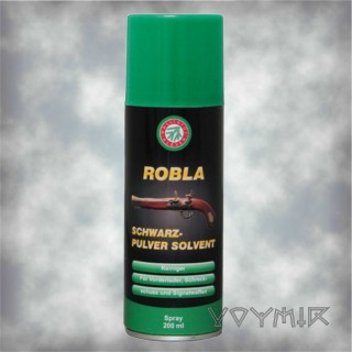 Robla Black Powder Solvent 200ml Spray Ballistol-Klever