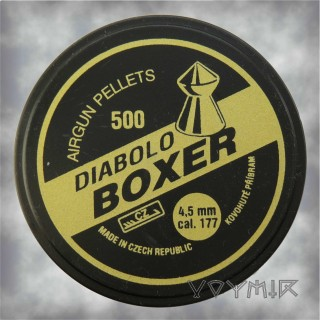 Kovohute Diabolo Boxer Airgun Pellets cal .177 4.5mm 500 pcs