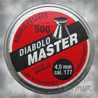 Kovohute Diabolo Master Airgun Pellets cal .177 4.5mm 500 pcs